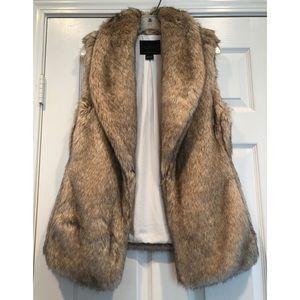 Sanctuary Women's Faux Fur Vest